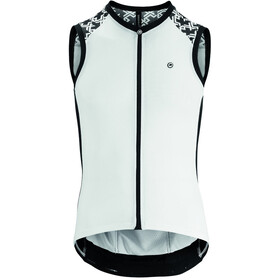 assos Mille GT Mouwloze Jersey Heren, holy white